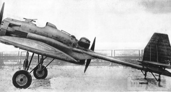 18104 - Истребитель И-12 (АНТ-23) с двумя 76-мм пушками АПК-4