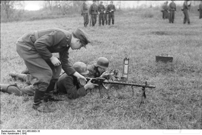 1815 - Все о пулемете MG-34 - история, модификации, клейма и т.д.