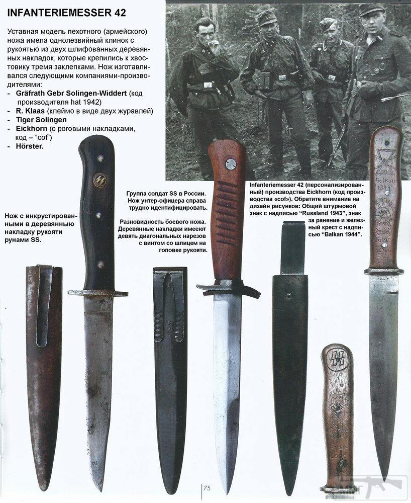 18336 - Немецкие боевые ножи