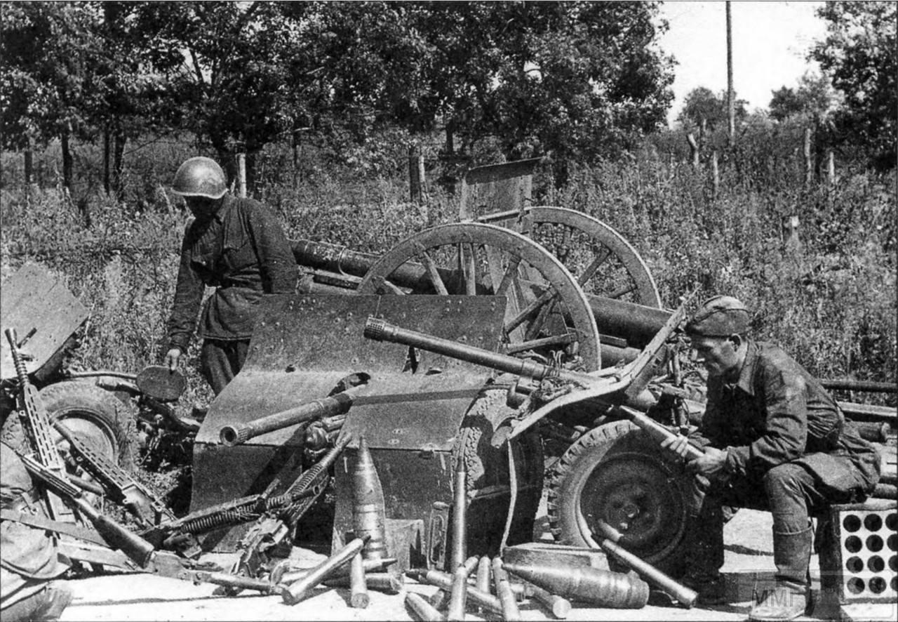 18419 - Военное фото 1941-1945 г.г. Восточный фронт.