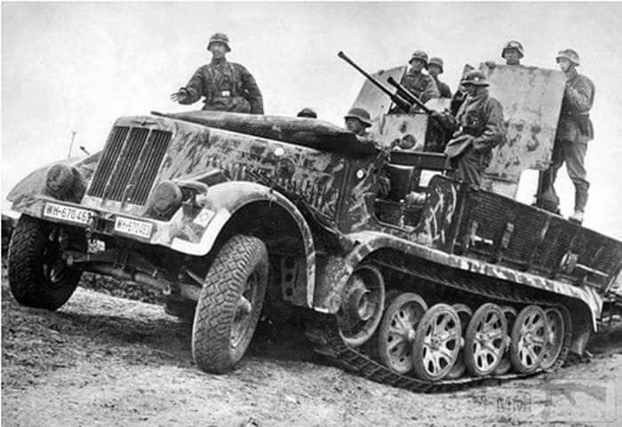 18464 - Грузовые и спец.автомобили Третьего рейха