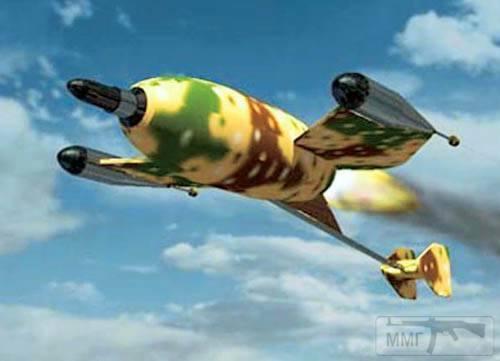18489 - Ракета Ruhrstahl X-7 в полете