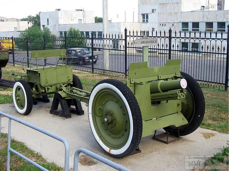 18601 - Колеса и лафет на полевую пушку обр 1927 года