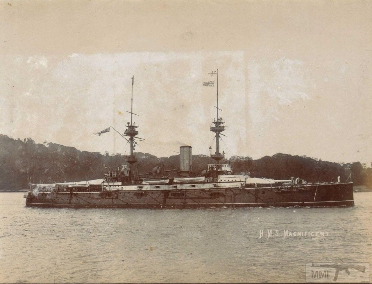 18712 - Броненосцы, дредноуты, линкоры и крейсера Британии