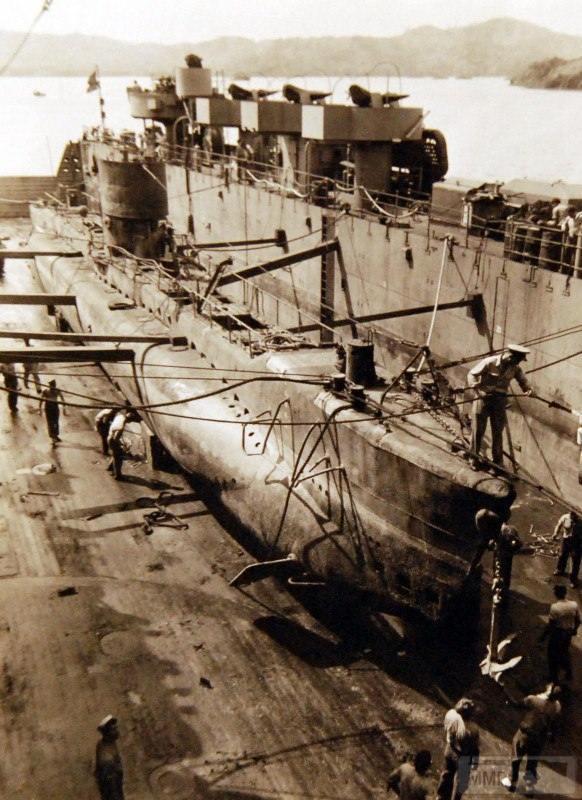 18786 - Военное фото 1941-1945 г.г. Тихий океан.