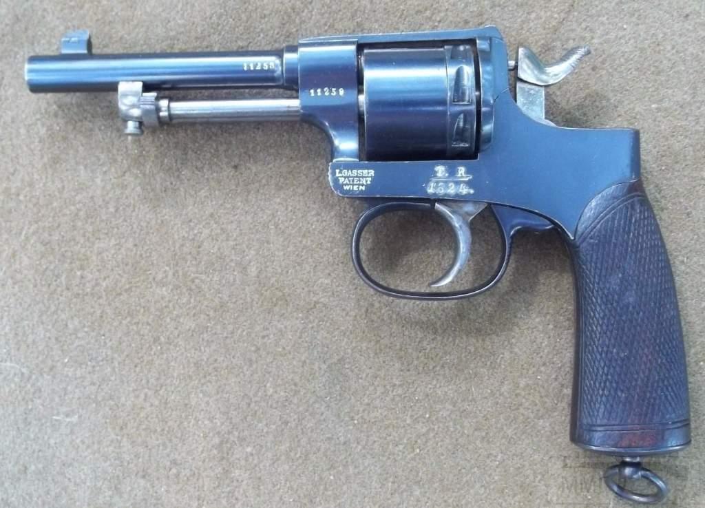 1880 - Короткоствольное оружие Австро-Венгрии