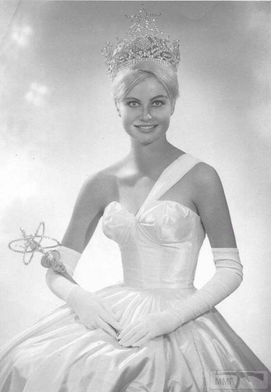 18858 - Марлен Шмидт / Marlene Schmidt (род. 1937, Вроцлав, Польша) - немецкая актриса, Мисс Вселенная 1961 (первая и пока единственная немка, удостоенная этого титула)