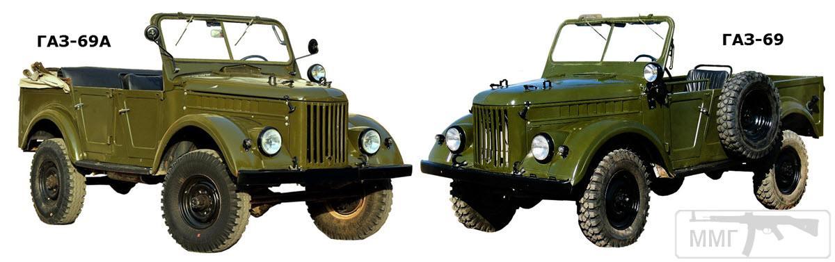 19033 - Обзор автомобиля ГАЗ-69 / ГАЗ-69А.