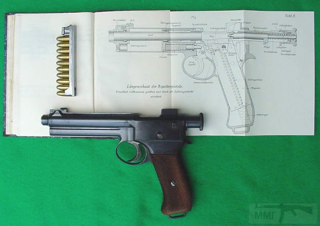 1904 - Короткоствольное оружие Австро-Венгрии
