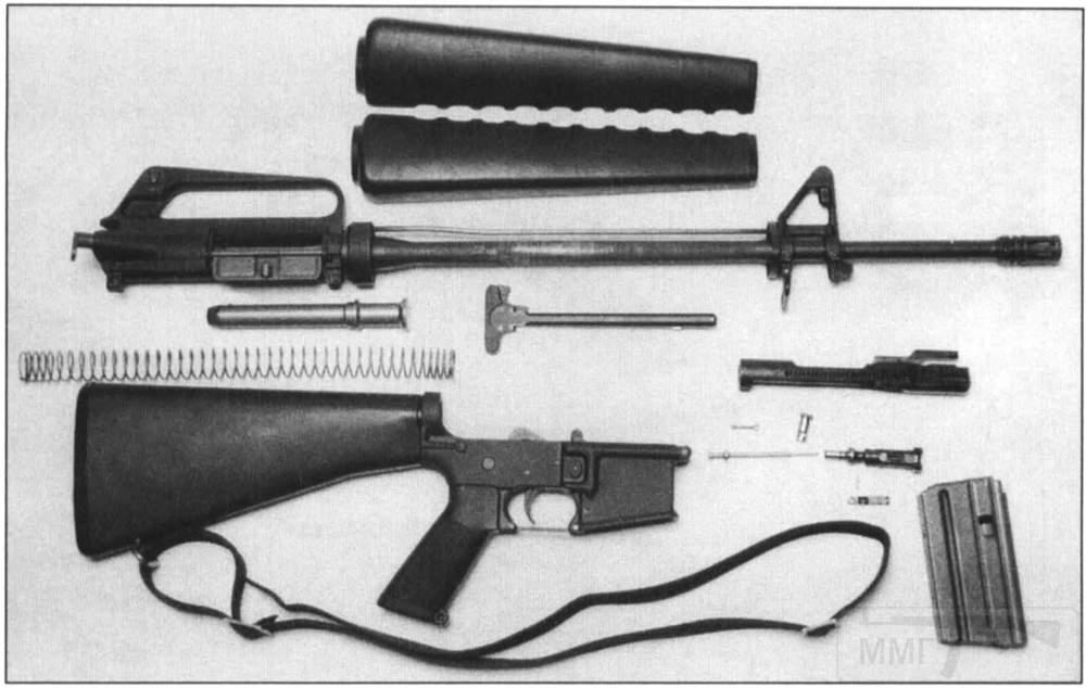 1929 - Семейство Armalite / Colt AR-15 / M16 M16A1 M16A2 M16A3 M16A4