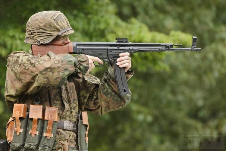 1941 - Sturmgewehr Haenel / Schmeisser MP 43MP 44 Stg.44 - прототипы, конструкция история