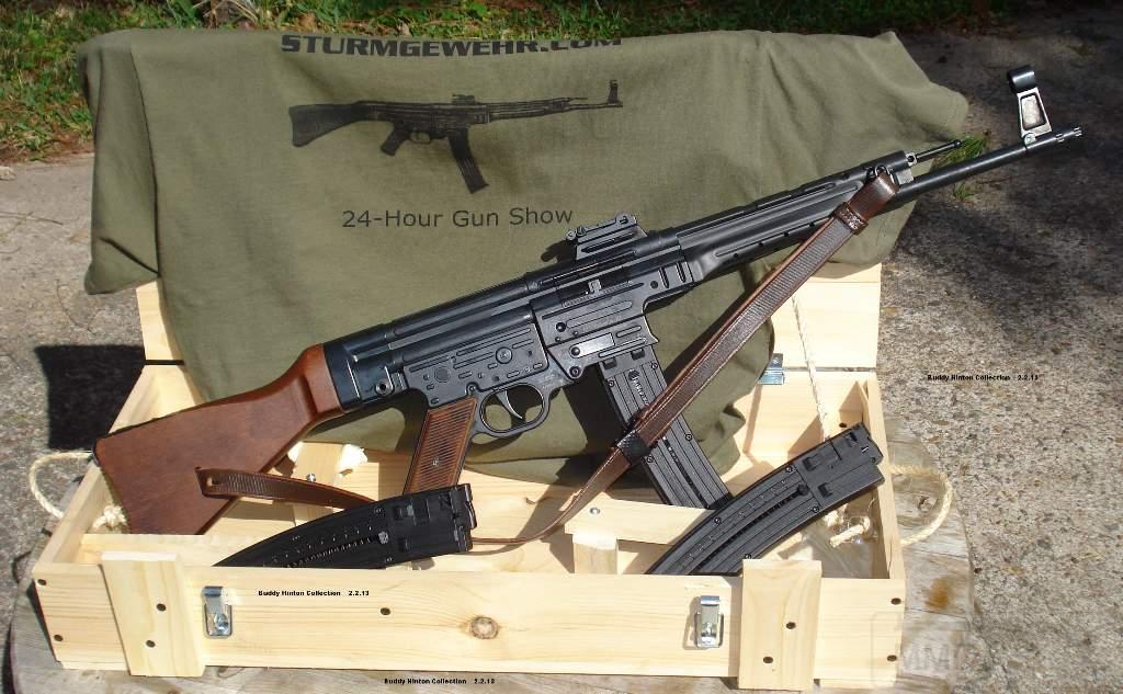 1946 - Sturmgewehr Haenel / Schmeisser MP 43MP 44 Stg.44 - прототипы, конструкция история
