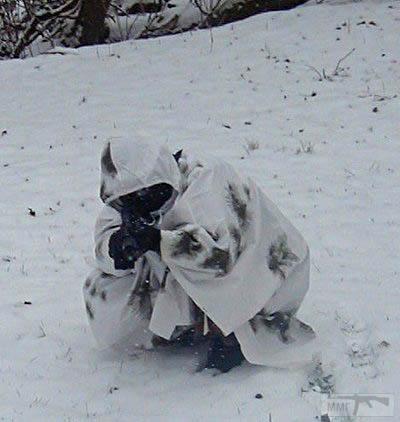 19584 - Зимнее маскировочное пончо армии Бундесвера .Контракт.Оригинал 100%