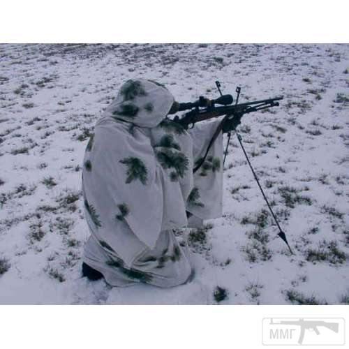 19585 - Зимнее маскировочное пончо армии Бундесвера .Контракт.Оригинал 100%