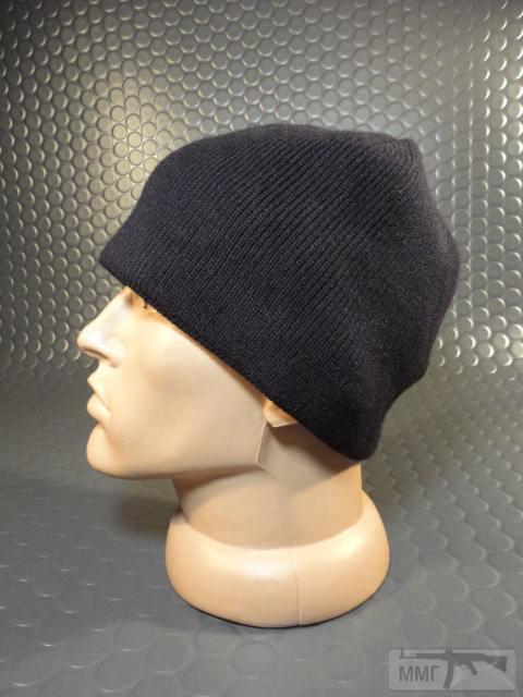 19744 - Новые шапки без отворота с флисовым утеплителем.Черные.