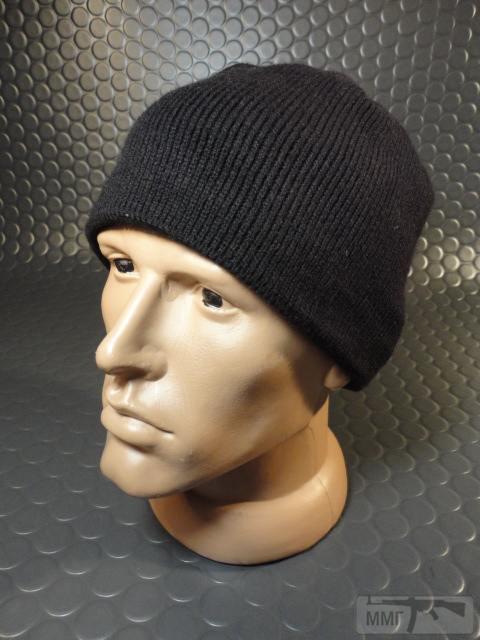 19748 - Новые шапки без отворота с флисовым утеплителем.Черные.