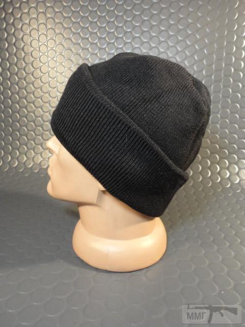 19749 - Новые шапки с отворотом и флисовым утеплителем.Черные.