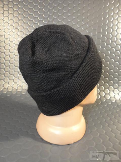 19751 - Новые шапки с отворотом и флисовым утеплителем.Черные.