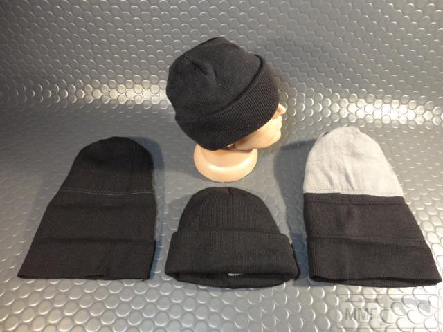 19752 - Новые шапки с отворотом и флисовым утеплителем.Черные.