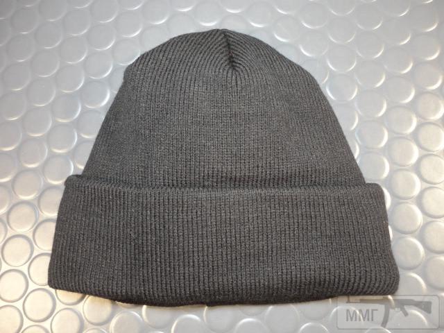 19757 - Новые шапки с отворотом и флисовым утеплителем.Черные.