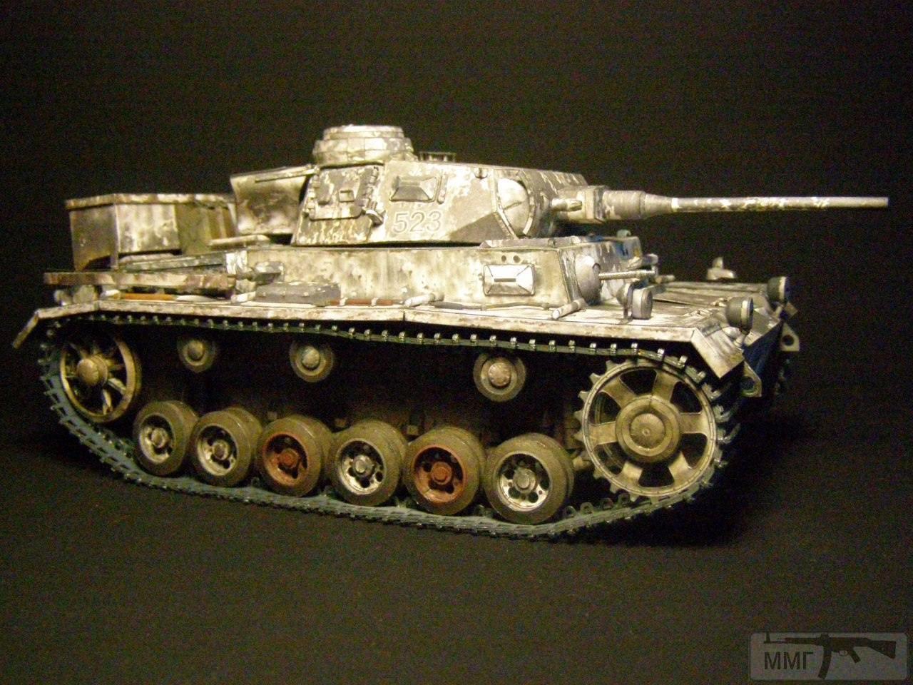 20080 - Pz III Ausf J. 1/25 Бумага. ГПМ.