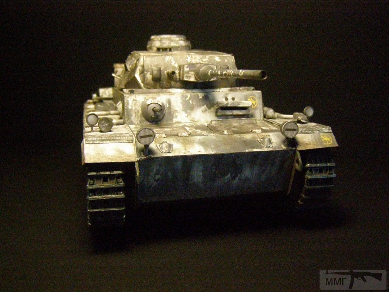 20081 - Pz III Ausf J. 1/25 Бумага. ГПМ.