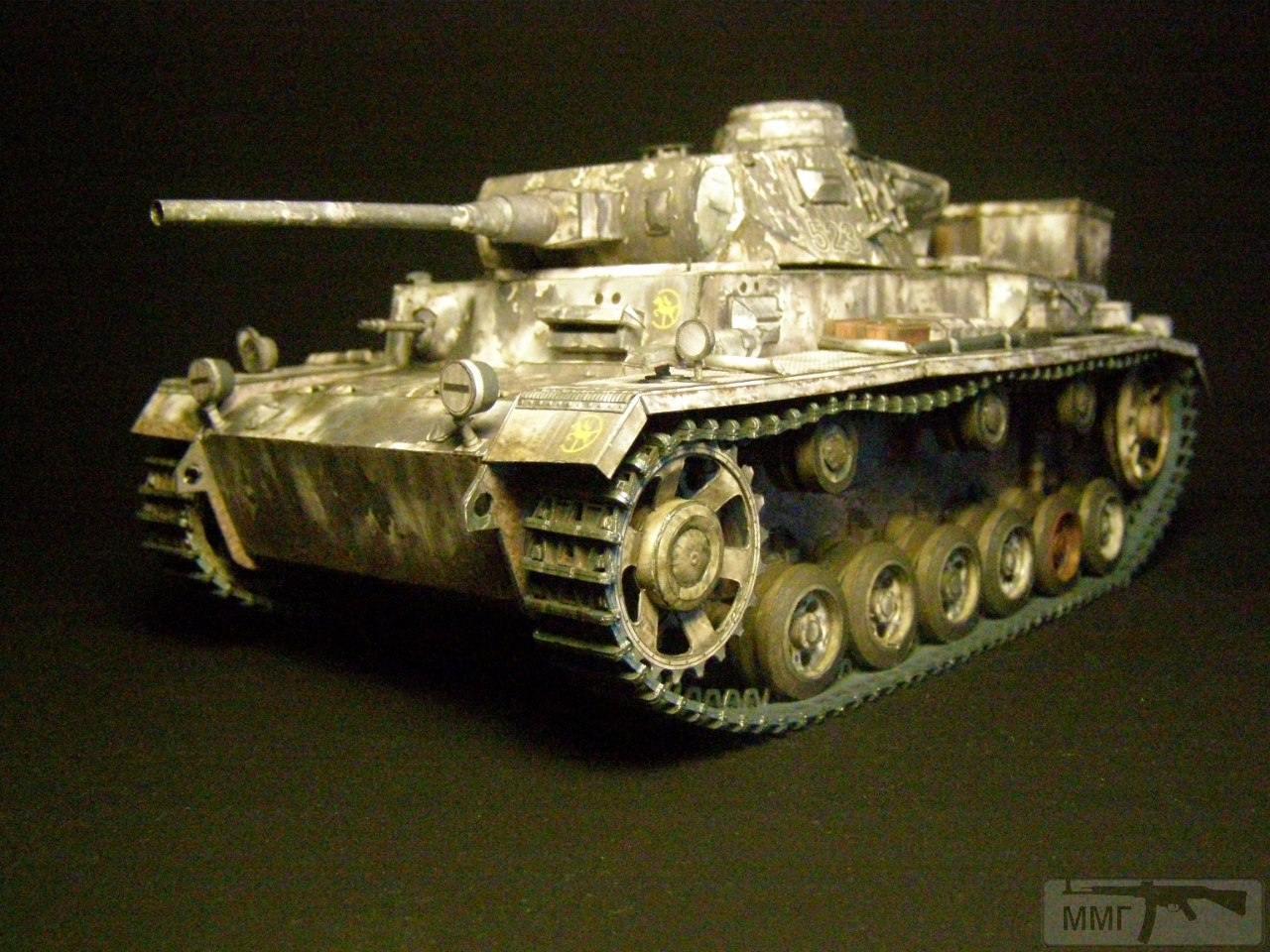 20082 - Pz III Ausf J. 1/25 Бумага. ГПМ.