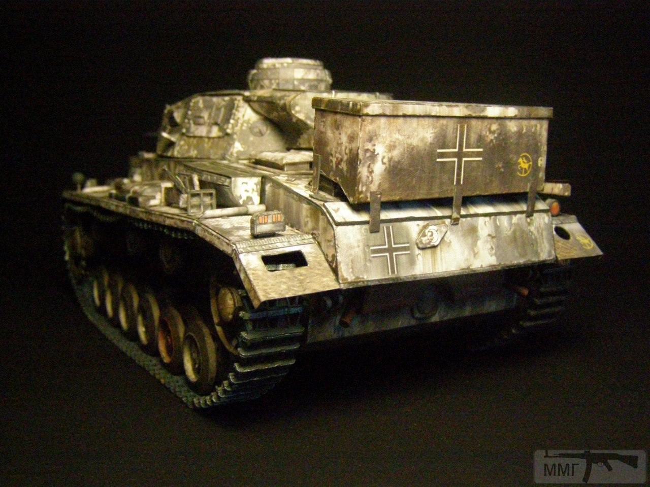 20083 - Pz III Ausf J. 1/25 Бумага. ГПМ.