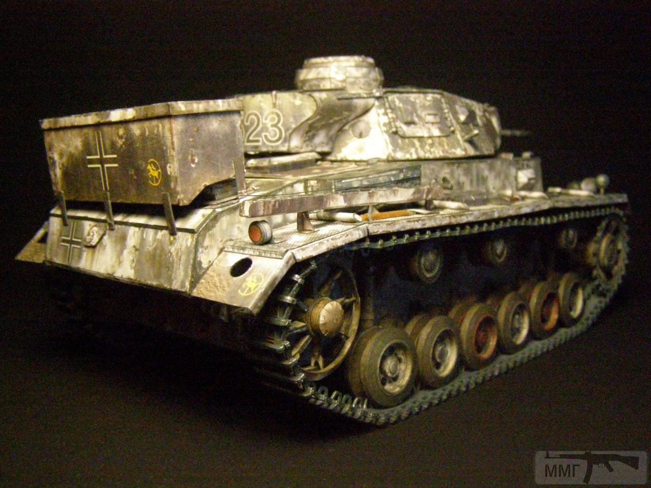 20084 - Pz III Ausf J. 1/25 Бумага. ГПМ.