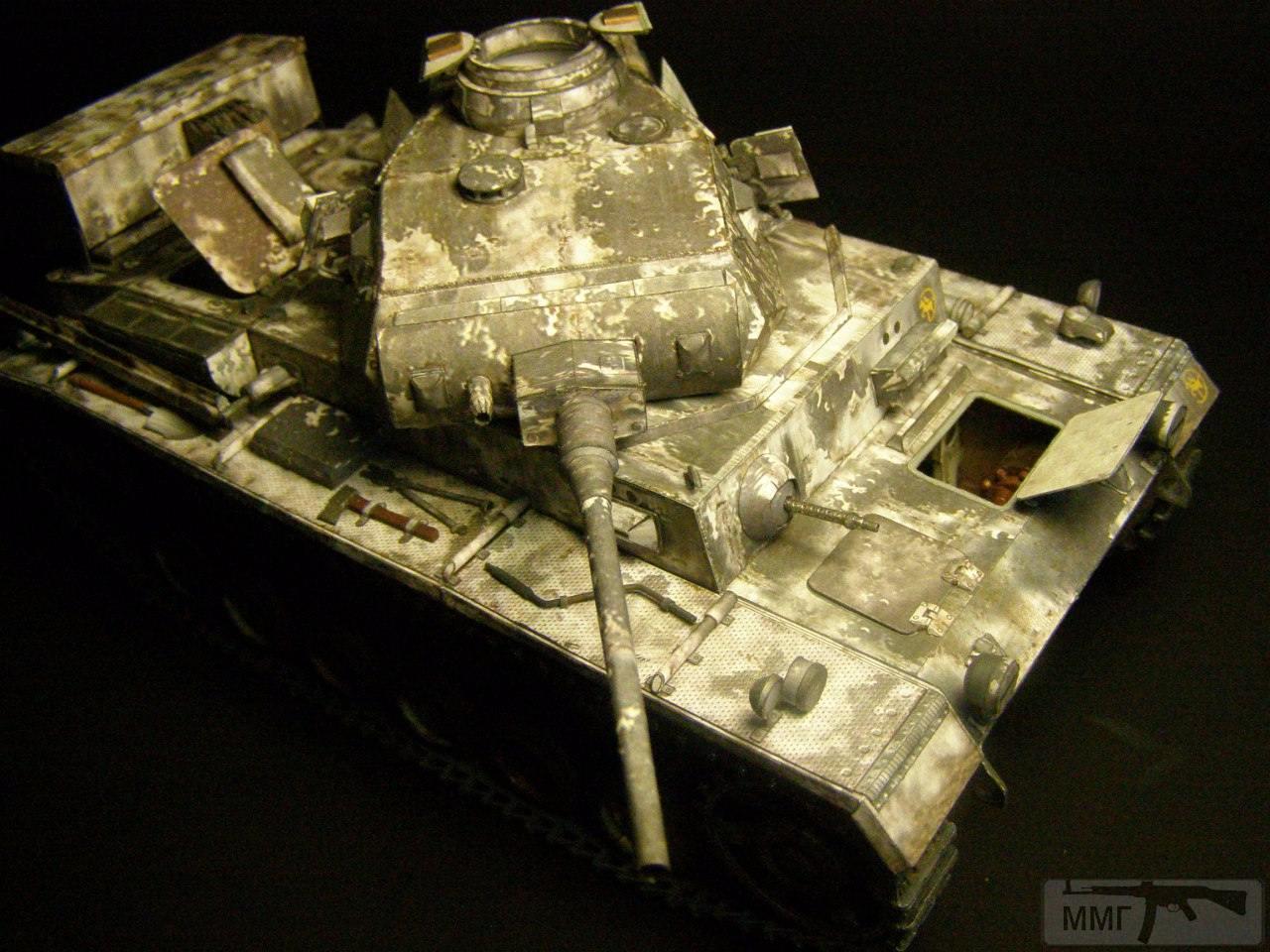 20085 - Pz III Ausf J. 1/25 Бумага. ГПМ.