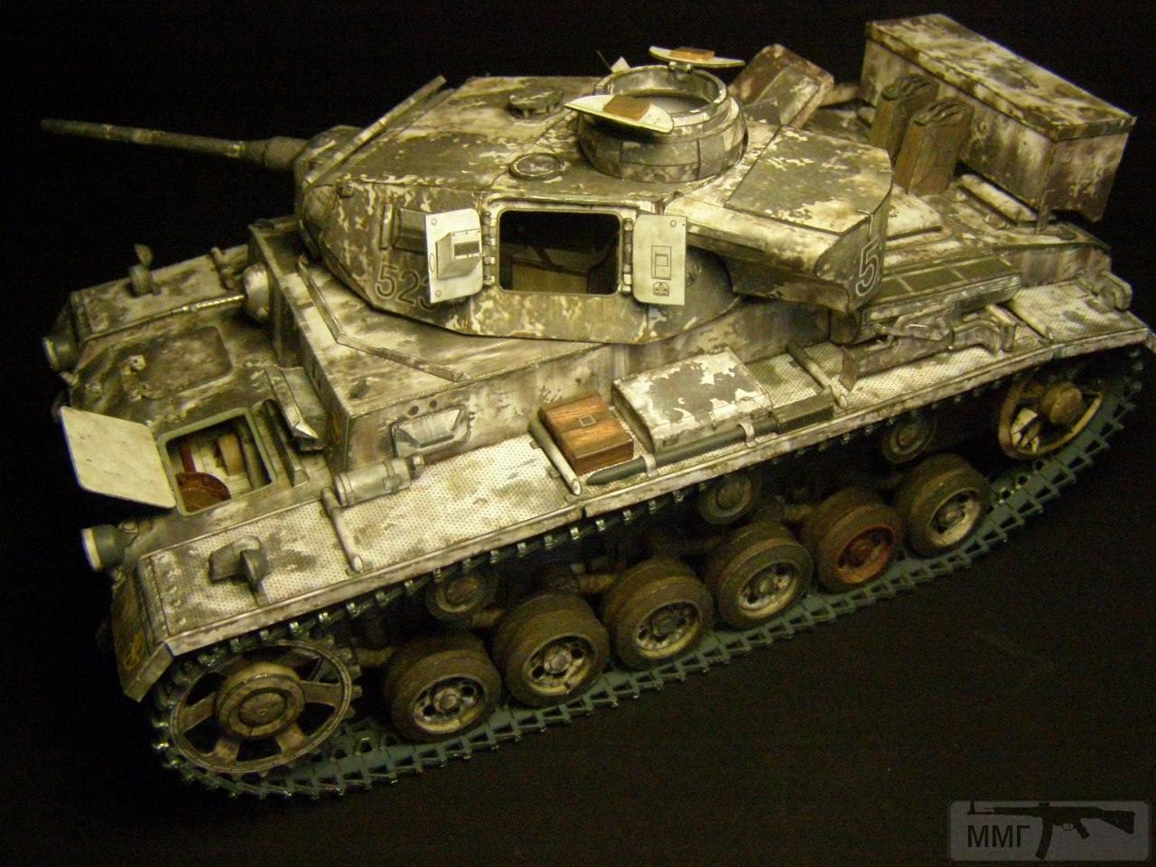 20087 - Pz III Ausf J. 1/25 Бумага. ГПМ.
