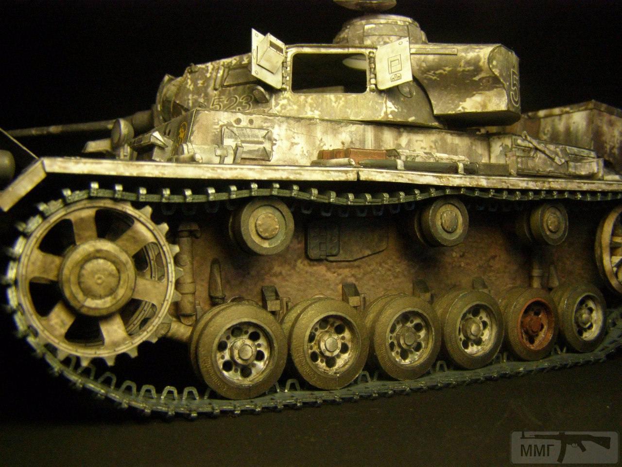 20088 - Pz III Ausf J. 1/25 Бумага. ГПМ.