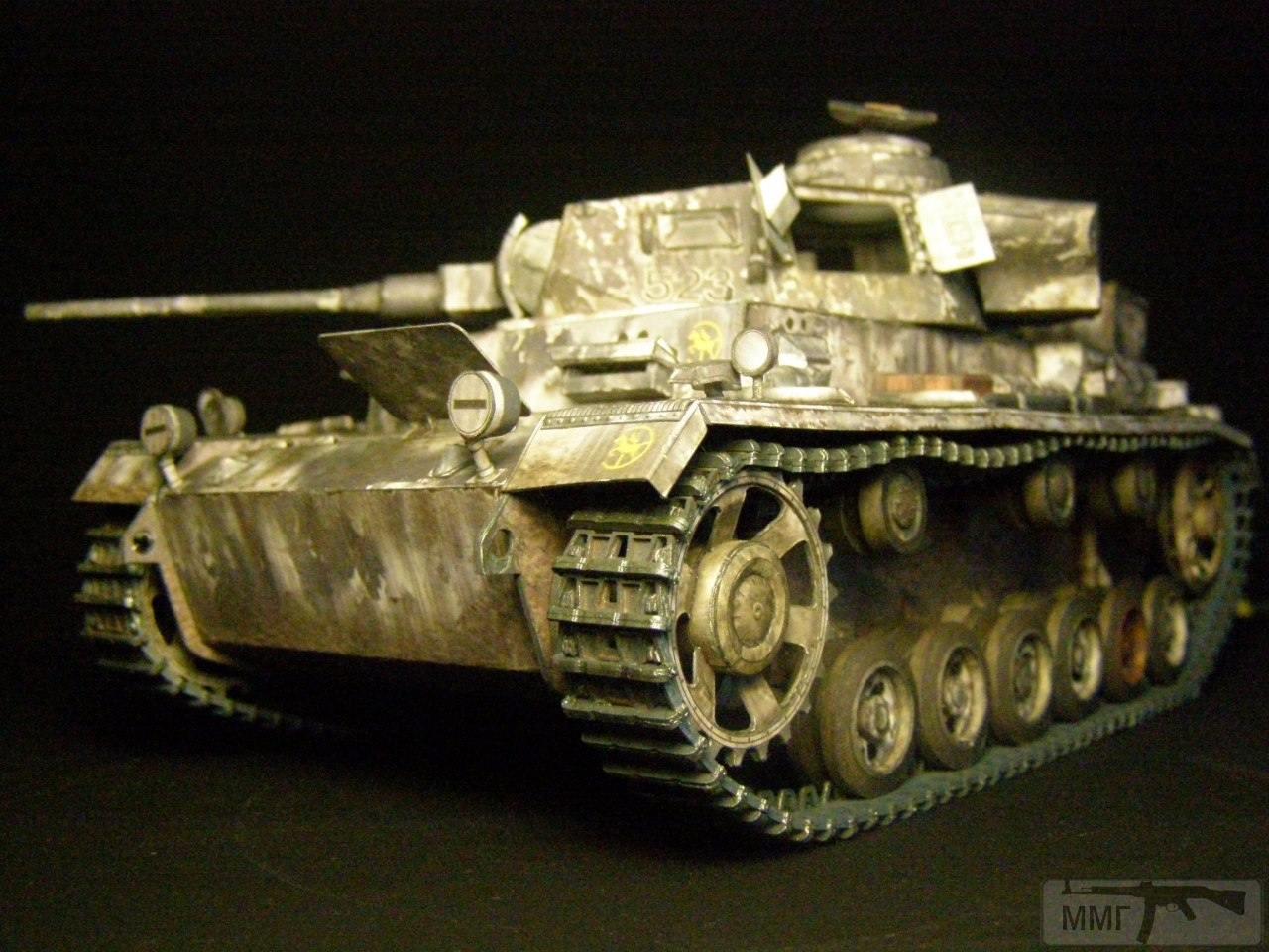 20089 - Pz III Ausf J. 1/25 Бумага. ГПМ.