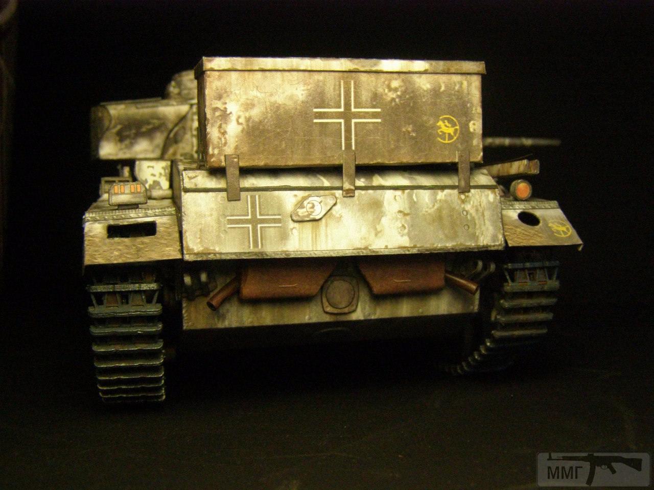 20100 - Pz III Ausf J. 1/25 Бумага. ГПМ.