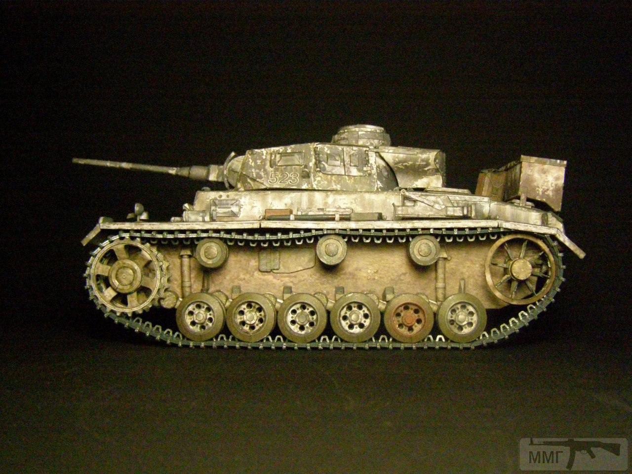 20101 - Pz III Ausf J. 1/25 Бумага. ГПМ.