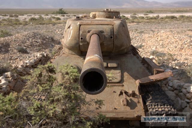 20301 - Послевоенное использование советской бронетехники WW2