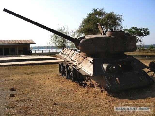 20302 - Послевоенное использование советской бронетехники WW2