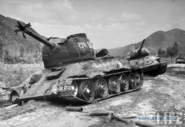 20304 - Послевоенное использование советской бронетехники WW2