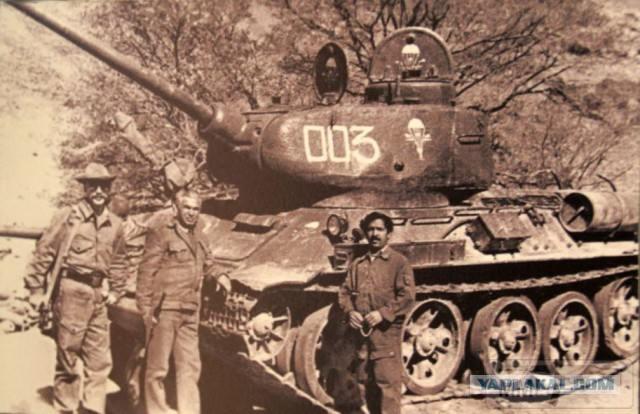 20311 - Послевоенное использование советской бронетехники WW2