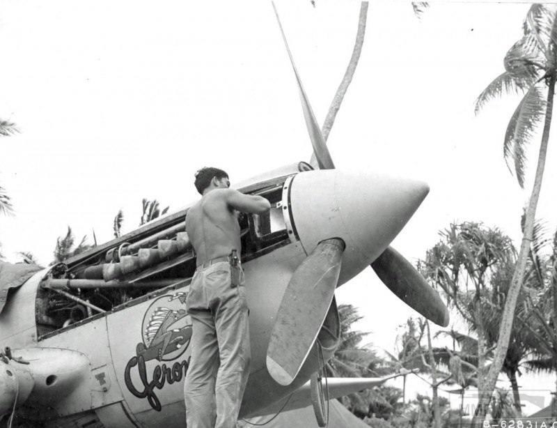 20317 - Военное фото 1941-1945 г.г. Тихий океан.