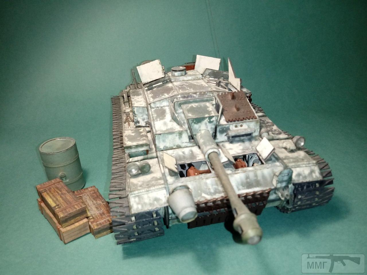 20400 - StuG III. 1/25. Бумага.