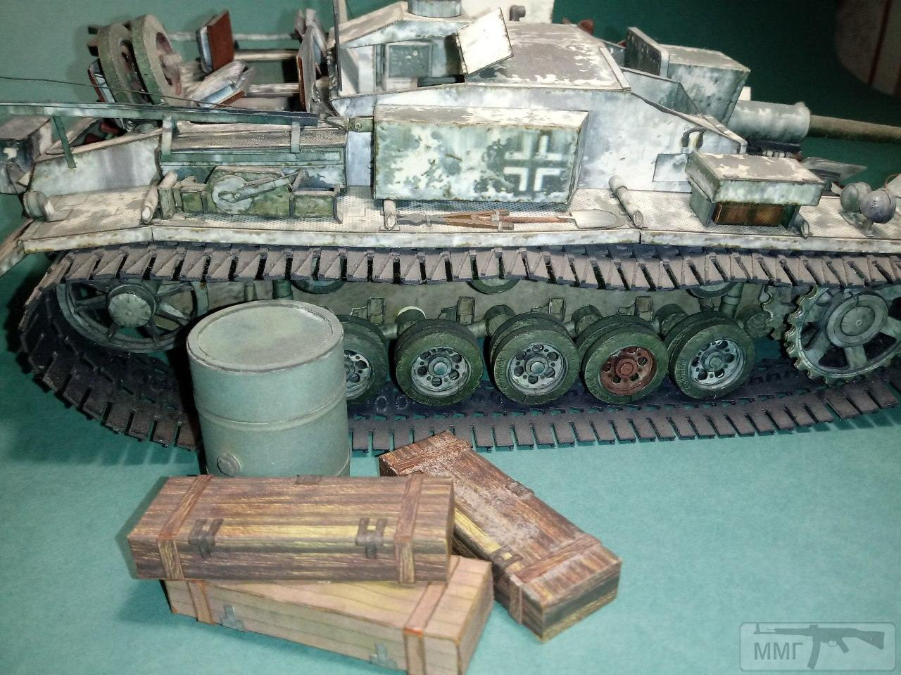 20402 - StuG III. 1/25. Бумага.