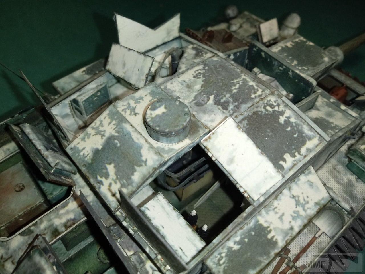 20404 - StuG III. 1/25. Бумага.