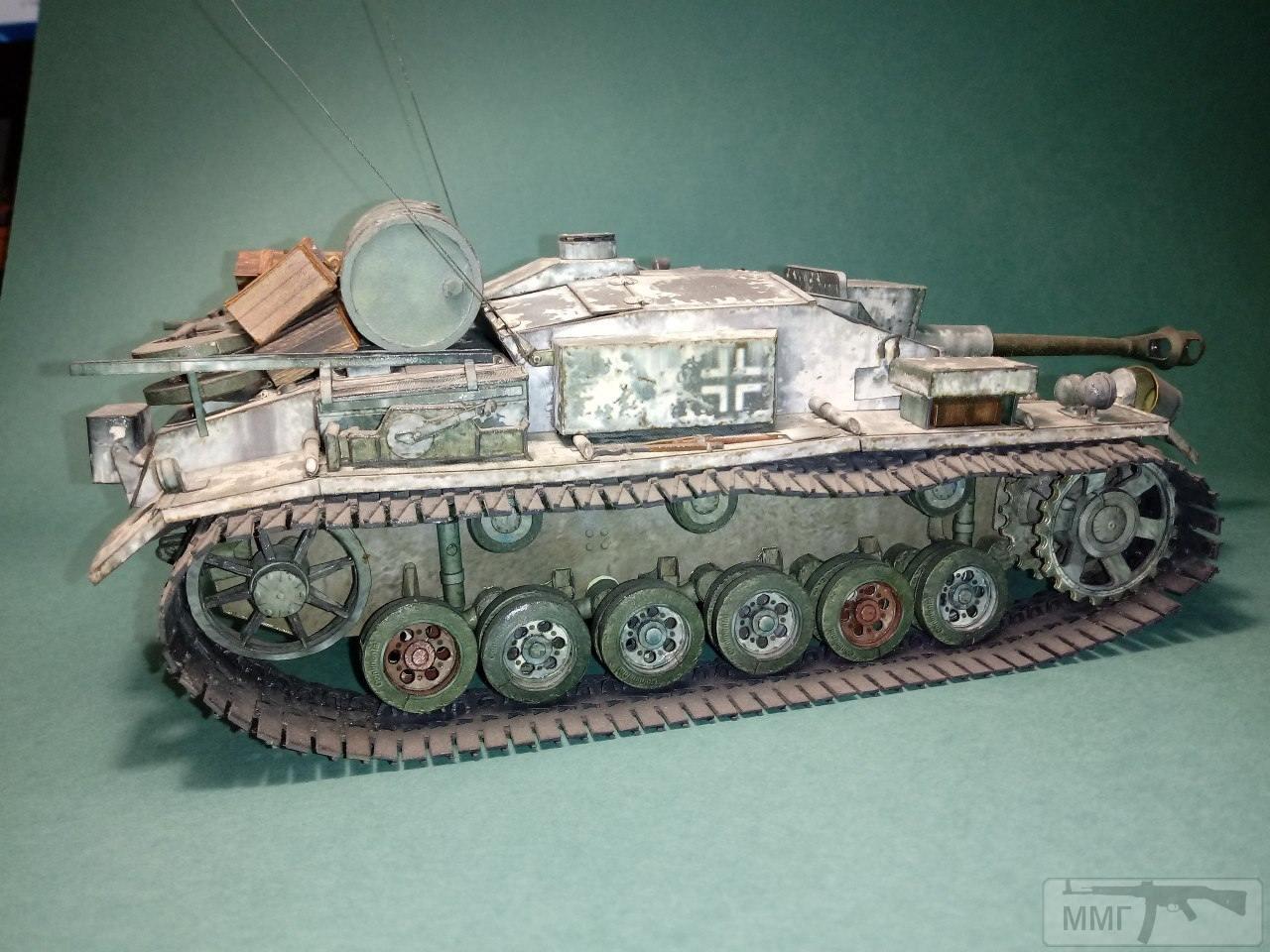 20406 - StuG III. 1/25. Бумага.