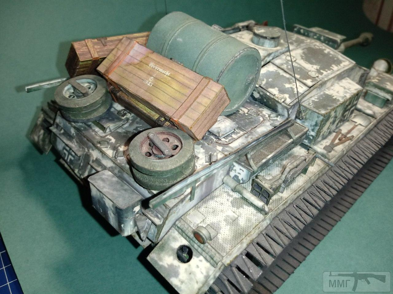 20407 - StuG III. 1/25. Бумага.