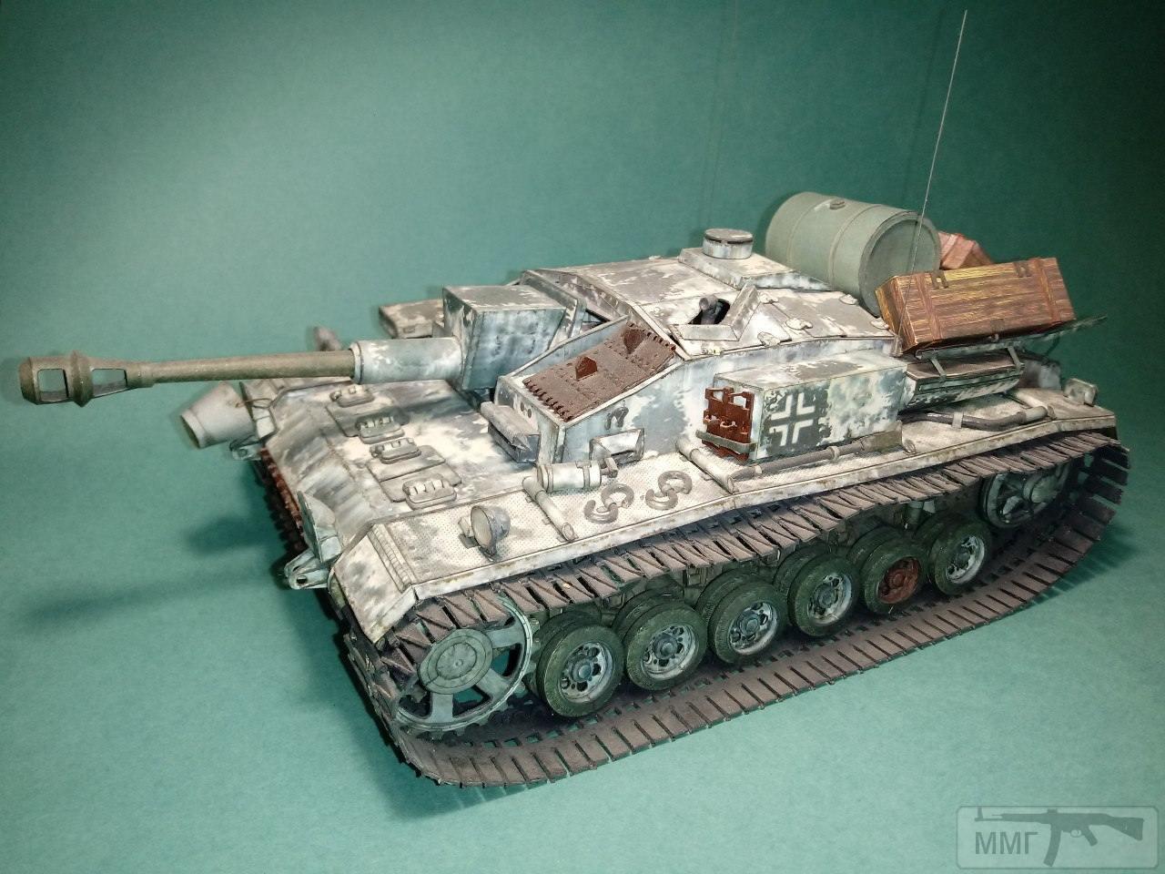 20409 - StuG III. 1/25. Бумага.