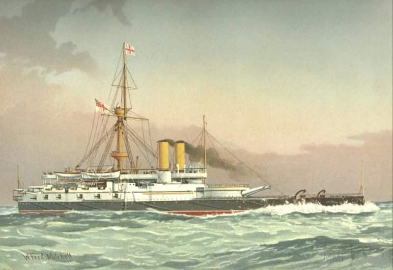 2129 - «Виктория» в море (картина)