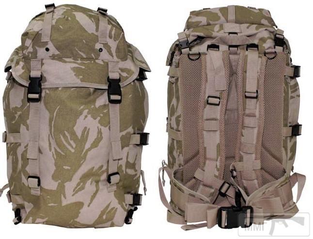 21404 - Модульный рюкзак армии Великобритании Bowman Manpack Radio Carrier Desert DPM 45 литров . Новый