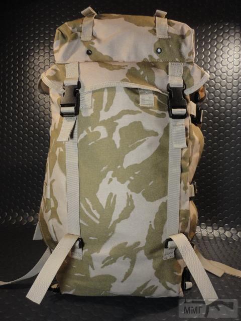 21406 - Модульный рюкзак армии Великобритании Bowman Manpack Radio Carrier Desert DPM 45 литров . Новый