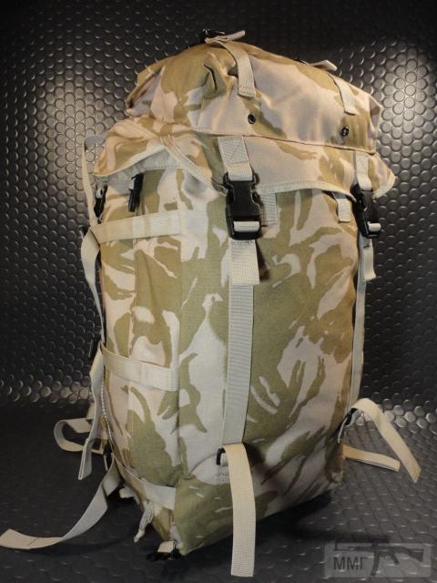 21407 - Модульный рюкзак армии Великобритании Bowman Manpack Radio Carrier Desert DPM 45 литров . Новый